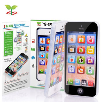Y-Phone Kids Children Baby Learning Study Toy Mobile Y Phone Learn Educational Toys  English Learning Machine = 5987832577