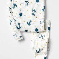 Gap Baby Organic Animal Sleep Set