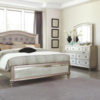 Belle Maison Queen Size Upholstered Bed