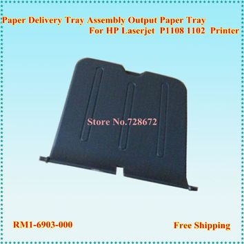 6 X NEW RM1-6903-000 Paper Delivery Tray Assembly for HP P1108 P1102w 1108 1102 Printer