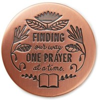 Finding Our Way One Prayer at a Time Magnet