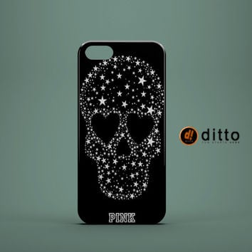 STAR SKULL PINK Design Custom Case by ditto! for iPhone 6 6 Plus iPhone 5 5s 5c iPhone 4 4s Samsung Galaxy s3 s4 & s5 and Note 2 3 4