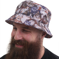 Cats bucket hat