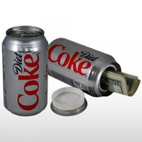 Diet COKE Coca Cola Soda Can Diversion Safe Stash NEW!