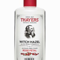 Thayers Alcohol-Free Rose Petal Witch Hazel Toner - Thayers Natural Remedies