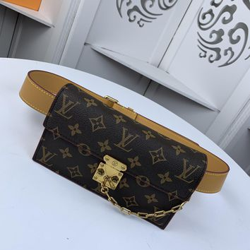 Kuyou Gb229916 Lv Louis Vuitton M44667 Monogram Other Small Leather Goods All Collections S Lock Belt Pouch Pm