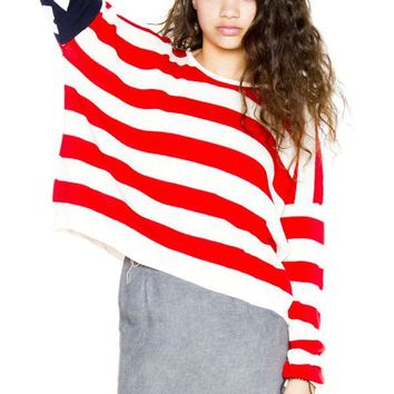 Cassidy american flag sweater - Brandy Melville USA