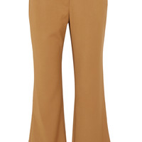 Opening Ceremony - Loren cropped stretch-woven flared pants