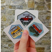 Destination mini sticker bundle