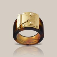 Lock Me Ring - Louis Vuitton  - LOUISVUITTON.COM