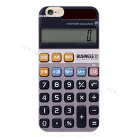 Stylish Silicon Calculator Look Phone Case For Apple iPhone 5 5S