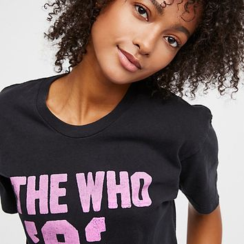 The Who '82 Tee