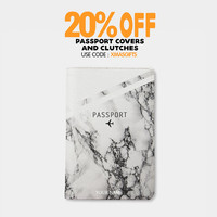 Marble passport holder personalized passport cover passport holder leather passport wallet passport case by wanderlustcover shop