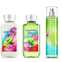 Bath & Body Works Beautiful Day Gift Set - All New Daily Trio (Full-Sizes)