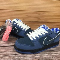 KUYOU Nike SB Dunk Low x Concepts 313170 342 Nike joint blue lobster Low top skate man