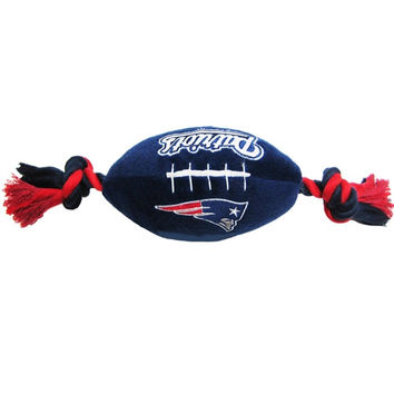 New England Patriots Plush Dog Toy