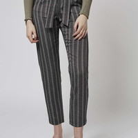 Monochrome Peg Trousers