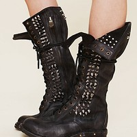 Studded Seattle Love Boot