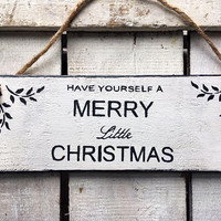 Christmas Sign. Merry Christmas. Christmas Decoration. Christmas Decor. Christmas Home Decor. Rustic Wood Sign.