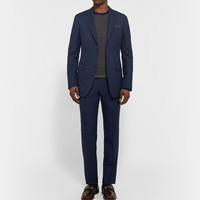 Gucci - Blue Brera Slim-Fit Wool and Mohair-Blend Twill Suit | MR PORTER