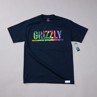 Flatspot - Grizzly T Puds Grizzly Stamp T Shirt Navy