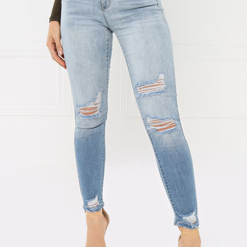 Summer Dream Jean - Light Wash Denim