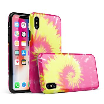 Spiral Tie Dye V2 - iPhone X Swappable Hybrid Case