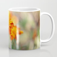 Marigolds In The Fall Coffee Mug by Theresa Campbell D'August Art