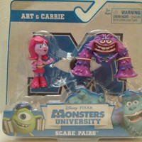 Disney monsters university scare pairs art carrie New in package 3+