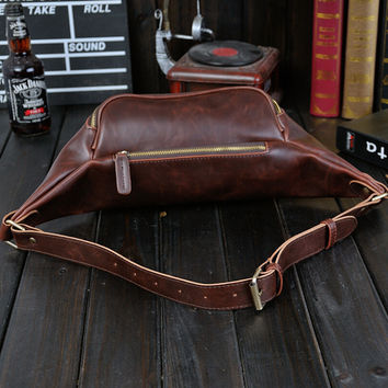 casual leather small bag
