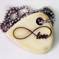 Infinity Love Bone Necklace