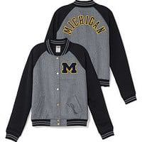 University of Michigan Varsity Jacket - PINK - Victoria's Secret