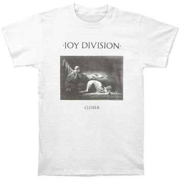 Joy Division Men's  Closer T-shirt White
