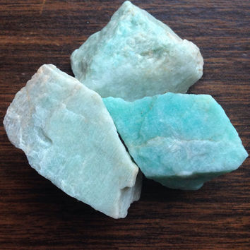 Raw Crystal Amazonite Healing Crystals and Stones Crystal Healing Raw Stone Bohemian Decor Alter Tools Tarot Tools