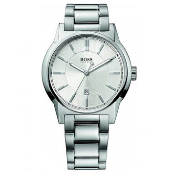 Hugo Boss 1512914 Men's Silver Dial Stainless Steel Bracelet Watch