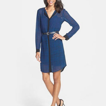Michael Michael Kors Verona Houndstooth Shirtdress