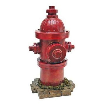 Dog Fire Hydrant Yard Garden Indoor Outdoor Resin Statue