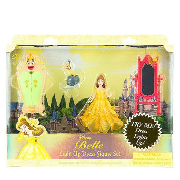 Disney Parks Belle Light-Up Dress Playset New with Box