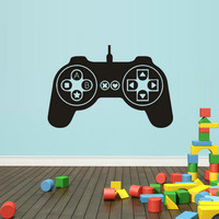 rvz1614 Wall Decal Vinyl Sticker Decals Gaming Time Xbox Ps3 Game Ps2 Controller
