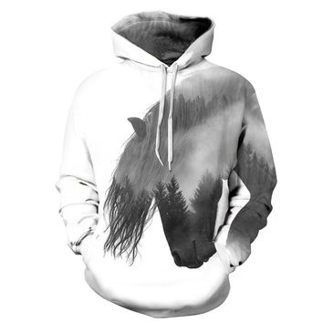 Hoodies Men/Women 3d hoodies Print Funny With Hat Autumn Thin Hoody Tracksuits