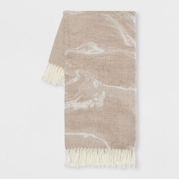 Neutral Marble Throw - Room Essentials™