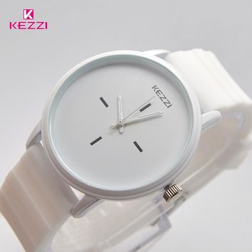 Black White Silicone Watches for Student