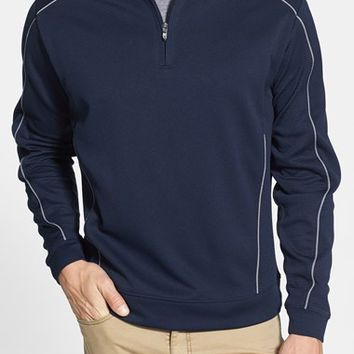 Men's Big & Tall Cutter & Buck DryTec Half Zip Pullover