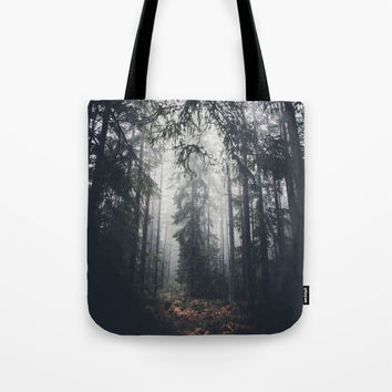 Dark paths Tote Bag by HappyMelvin
