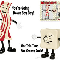 MR. BACON VS. MONSIEUR TOFU