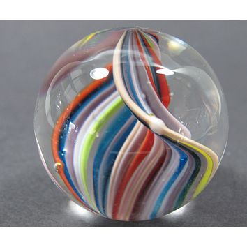 Glass marble Hand made. Free Shipping