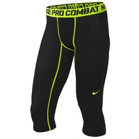 Nike Pro Combat Core Compression 3/4 Tights - Men's at Champs Sports