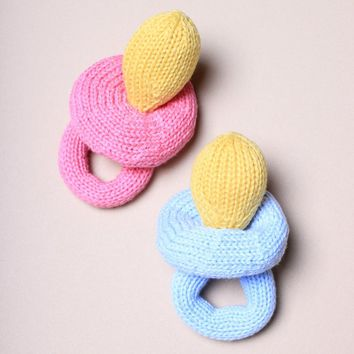 Organic Pacifier Rattle Baby Toys