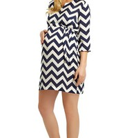 Women's Madderson London 'Aurelie' Print Maternity Dress,