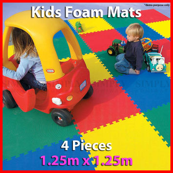 Kids Foam Mats Baby EVA Mat Interlocking Play Playmat Floor Puzzle Puzzles